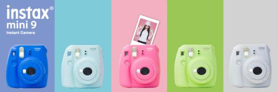即时成像相机再出新品 富士发布Instax Mini 9