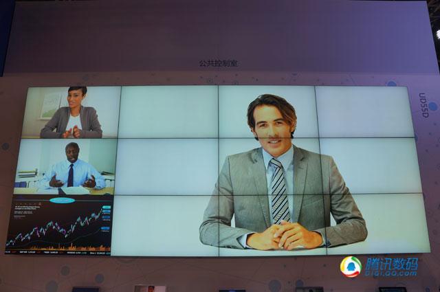 三星大型商用拼接屏UD55D亮相 合并边框3.5mm