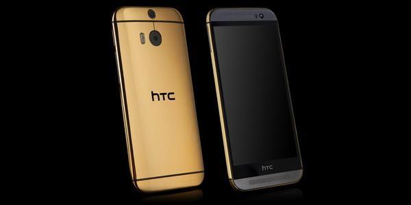 24K黄金版HTC One M8开卖 售价1.6万起