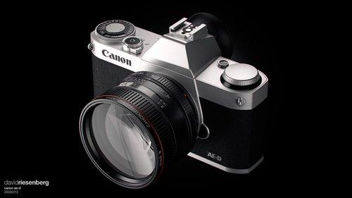 拥有单反画质 传佳能将推出微单相机