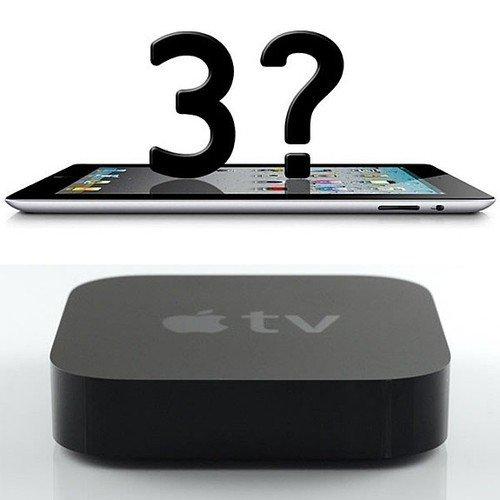 传苹果新Apple TV机顶盒随iPad 3发布