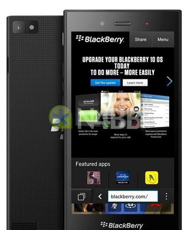 黑莓Jakarta/Z3渲染图曝光 全触控机身设计