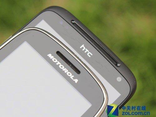 直板全键盘 HTC Chacha/摩托XT316对比