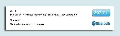 苹果MacBook Air新本支持蓝牙4.0标准