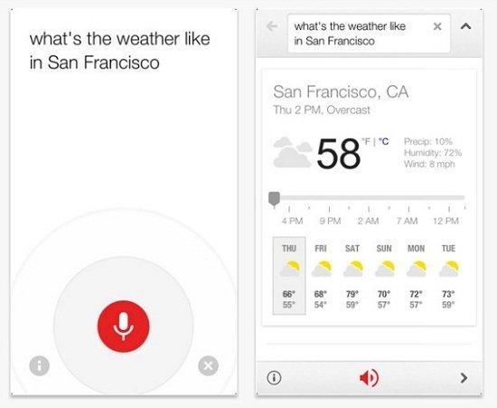 谷歌更新iOS语音搜索App 甚至可以播放搜索结