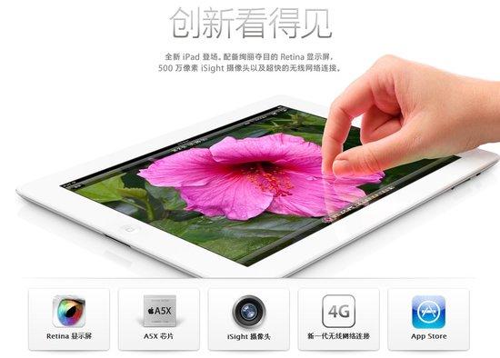 新iPad四大特性解析 Retina显示屏居首