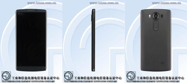 LG神秘手机V曝光 屏幕内嵌摄像头