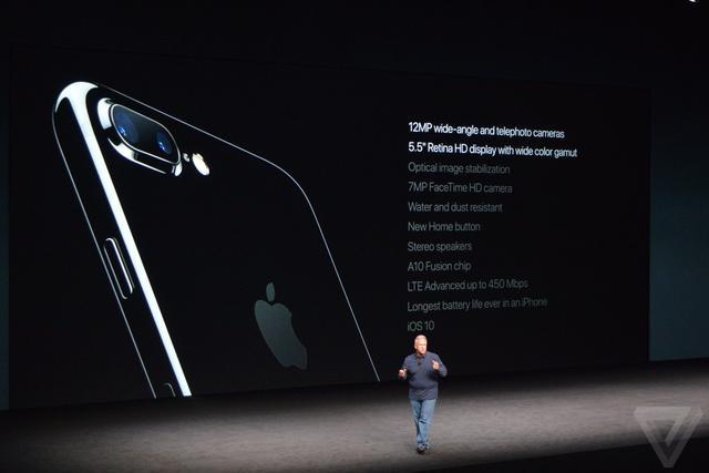 苹果发布iPhone 7/7 Plus 国行版5388元起售