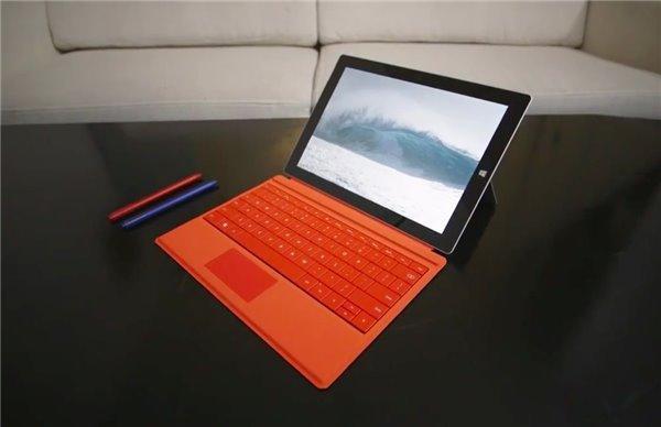 Win 8.1微软Surface 3平板发布 499美元起售