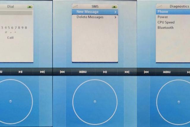 最初的iPhone界面设计曝光 原本要用滚轮设计