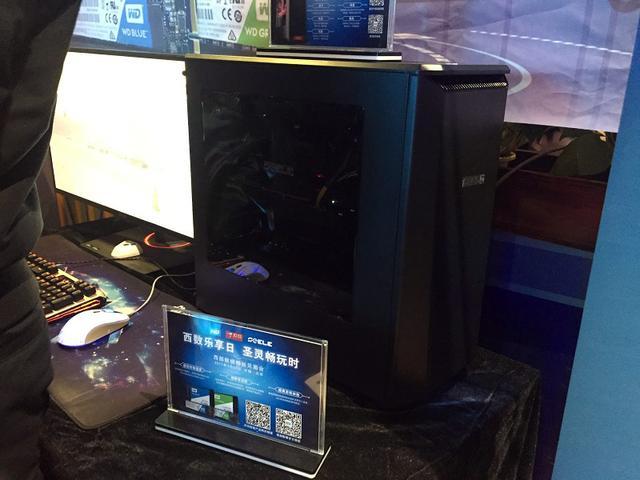 西数联合圣灵发布SEELE游戏主机 内置WD绿盘固态