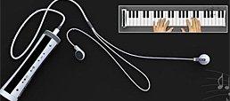 MP3播放器变身钢琴