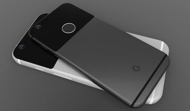 谷歌新机造型奇葩 双圆Home键背盖撞色设计
