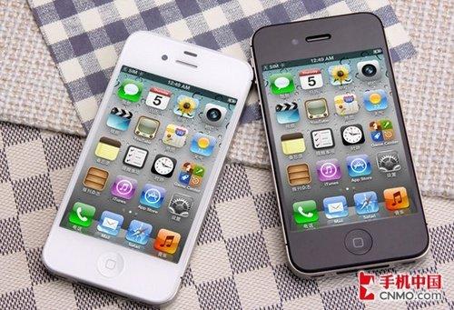 苹果iPhone 4S不足3700元 IPS高清靓屏