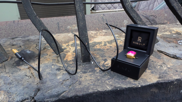 Ringly智能戒指上手:帮你摆脱手机的束缚