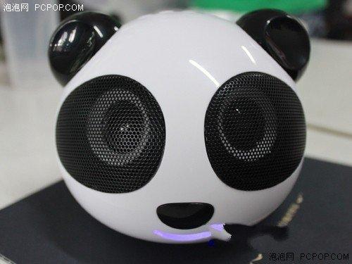 只求一张照片音箱!可爱熊猫便携表情动态包老年人聊天彩色图片