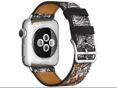 爱马仕又给苹果表设计新表带啦 丑贵丑贵的