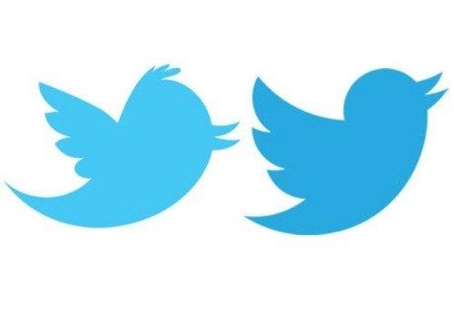 简化版的蓝色小鸟 twitter发布新logo