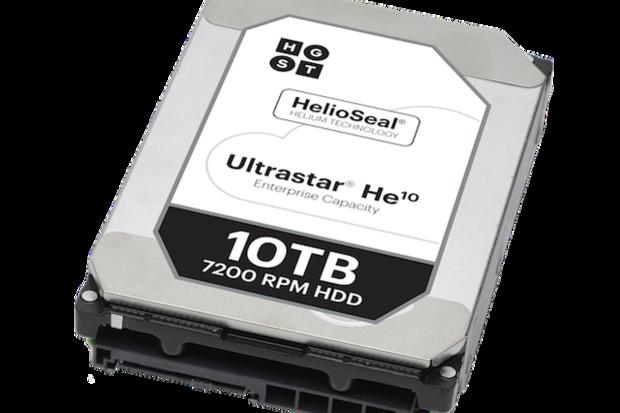 西数发布全球首款10TB充氦硬盘 采用PMR技术