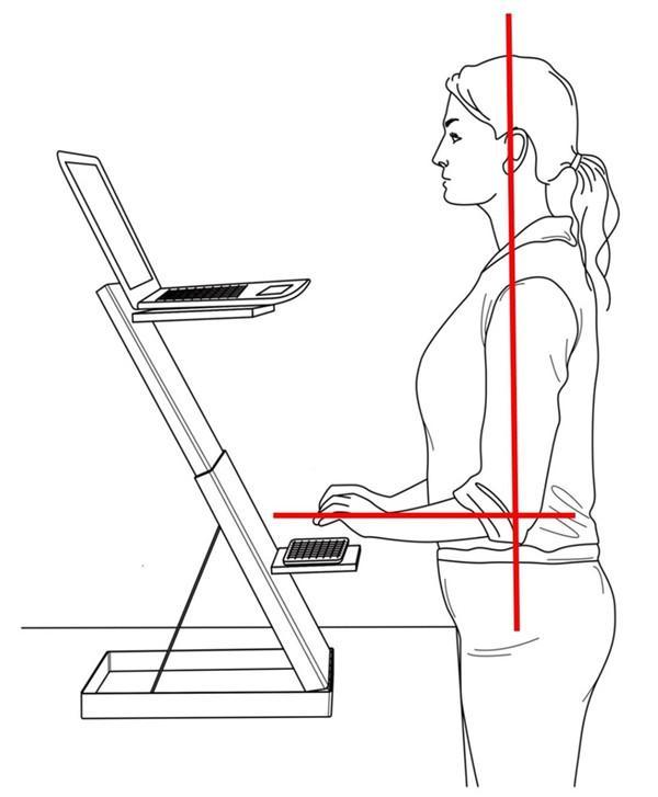 可拉伸调节的电脑桌?跪着、坐着、站着用都合适