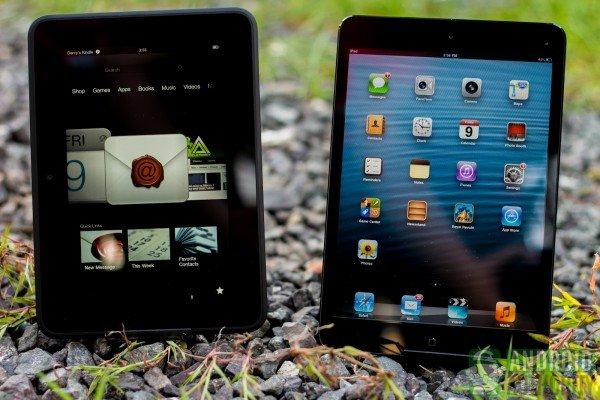 数据显示Kindle Fire HD销量远超iPad mini