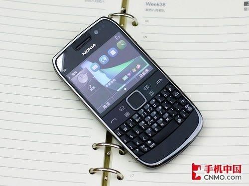 全新Anna全键盘手机 诺基亚E6仅2350元