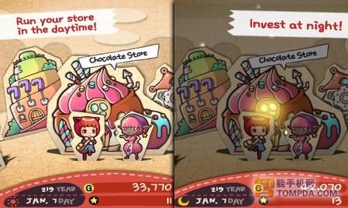 iPhone模拟经营游戏 查理的巧克力工厂
