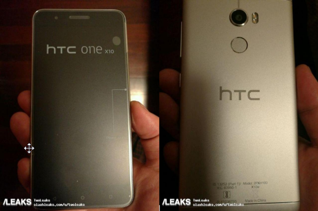 HTC One X10真机再次曝光 但传闻已被砍掉