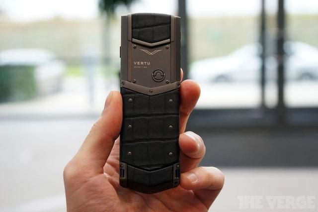 手机奢侈品牌Vertu再易主 只值6100万美元了