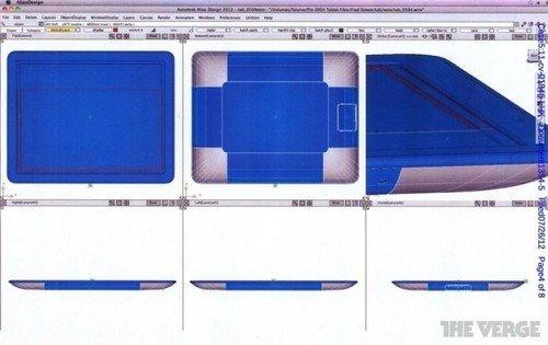苹果三星官司再爆猛料 iPad模型图流出