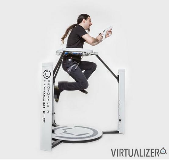 虚拟现实跑步机到底是个什么鬼? AR资讯 第10张
