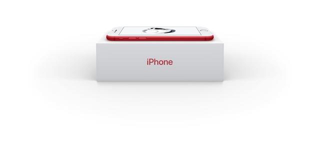 红色版iPhone 7/iPhone 7 Plus发布 6188元起售