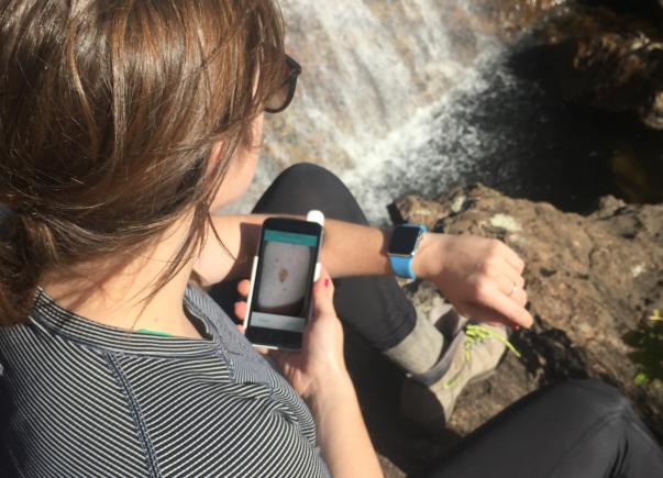 这款设备配手机能鉴别皮肤癌 做到早预防
