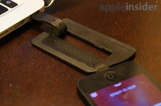 新概念iPhone5充电线评测 薄如信用卡可放入钱包