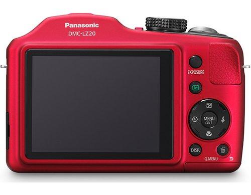 松下发布21倍大变焦数码相机DMC-LZ20