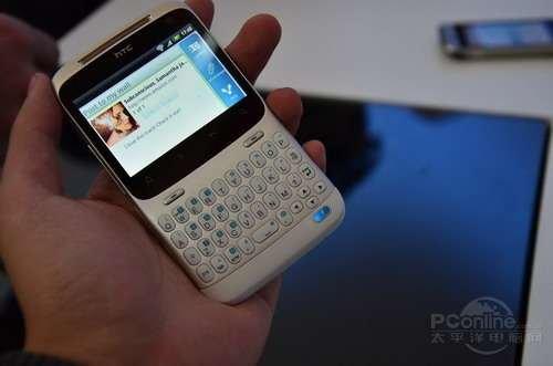全键盘安卓 HTC Chacha将破千元大关