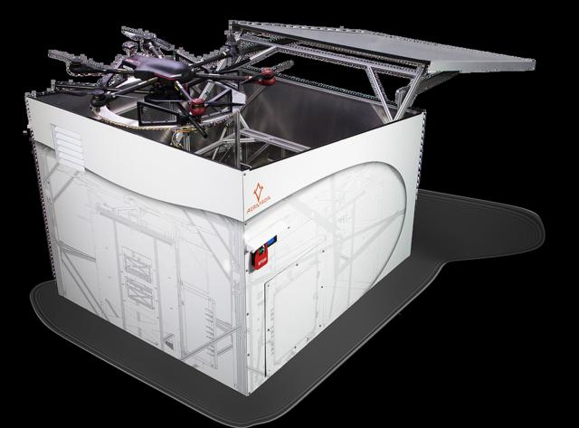 这就是传说中的自动化无人机 可自行起降和充电