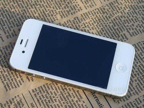 白色无锁iPhone 4S欲破4000 人气最高