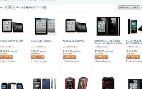 仅69美元 Sears失误创iPad2最低价记录