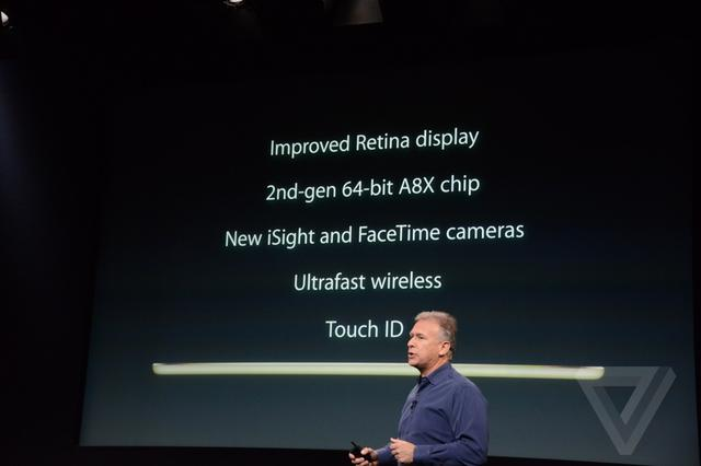 iPad Air 2发布 仅6.1mm厚度499美元起售
