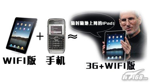 立省910元 手机路由让WIFI版iPad变身3G
