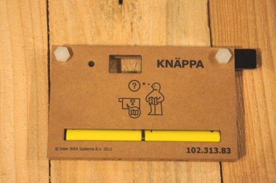 试玩宜家的纸板相机KNÄPPA