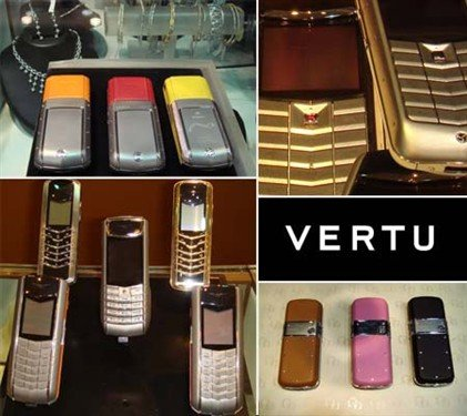 售价达百万 诺基亚旗下Vertu手机回顾