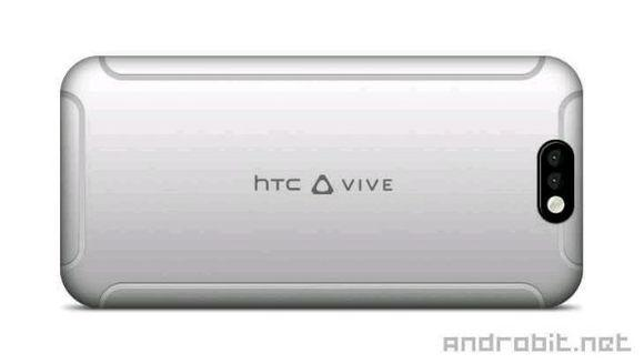 这是双镜头HTC Vive手机?四条白带设计很辣眼