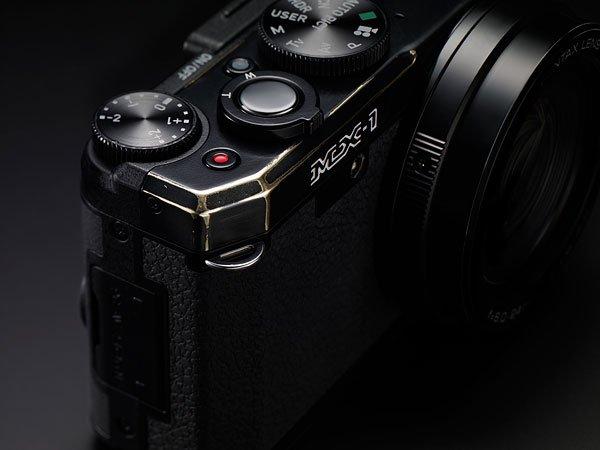 賓得推專業卡片相機MX-1 黃銅機身極度復古