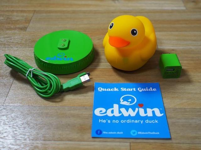 Edwin智能橡皮鸭体验 内容有所欠缺