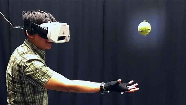 迪士尼又出黑科技 让你在VR世界抓住真实的网球