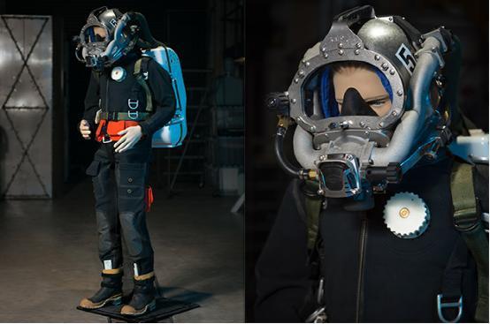 美军研发新型潜水服 潜水时消耗更少的氦气