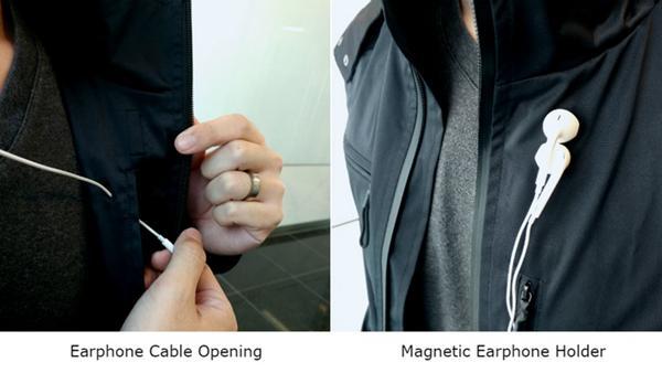 这件夹克藏了好多小工具 怀疑从前买的都是假的