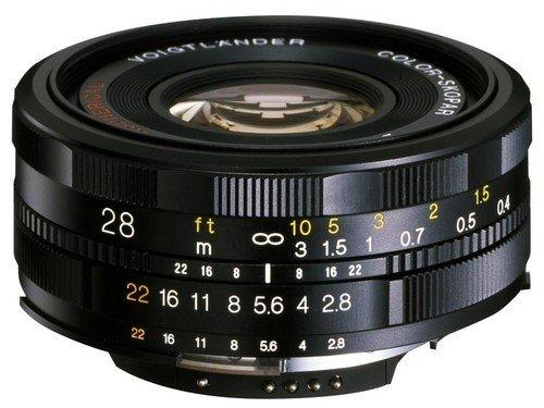 福伦达28mm饼干单反镜头国内正式发布